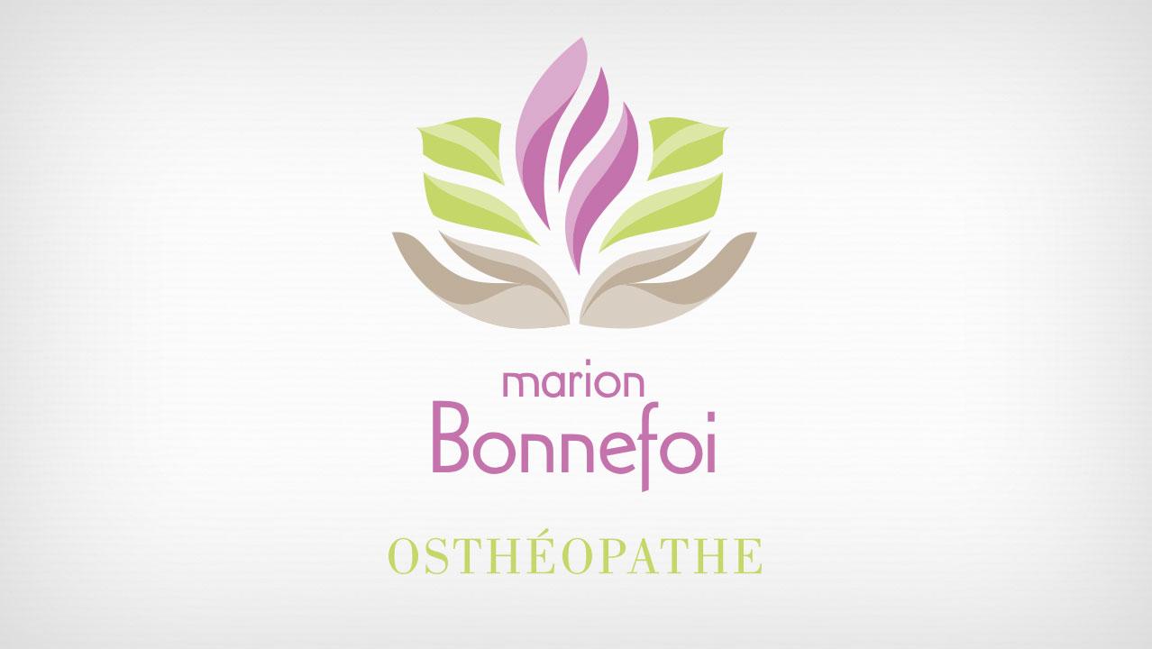 Logotype M. Bonnefoi osthéopathe