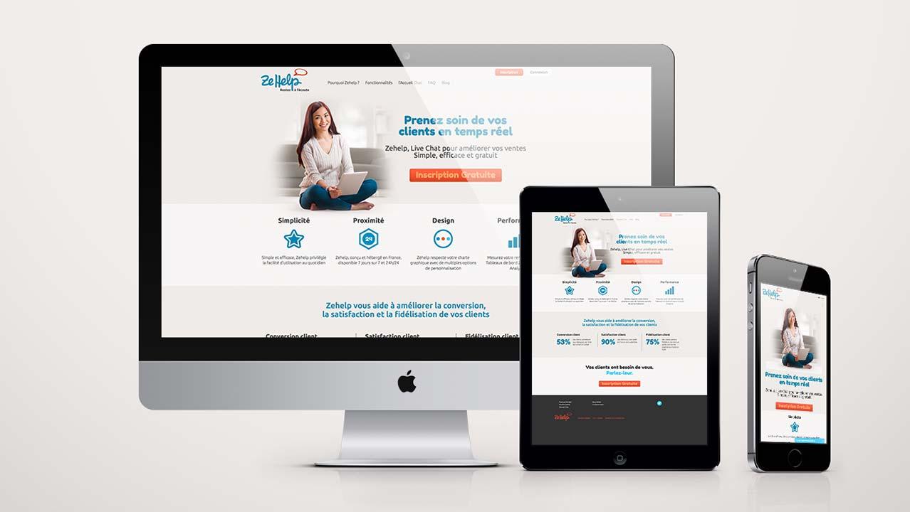 Webdesign zehelp.com