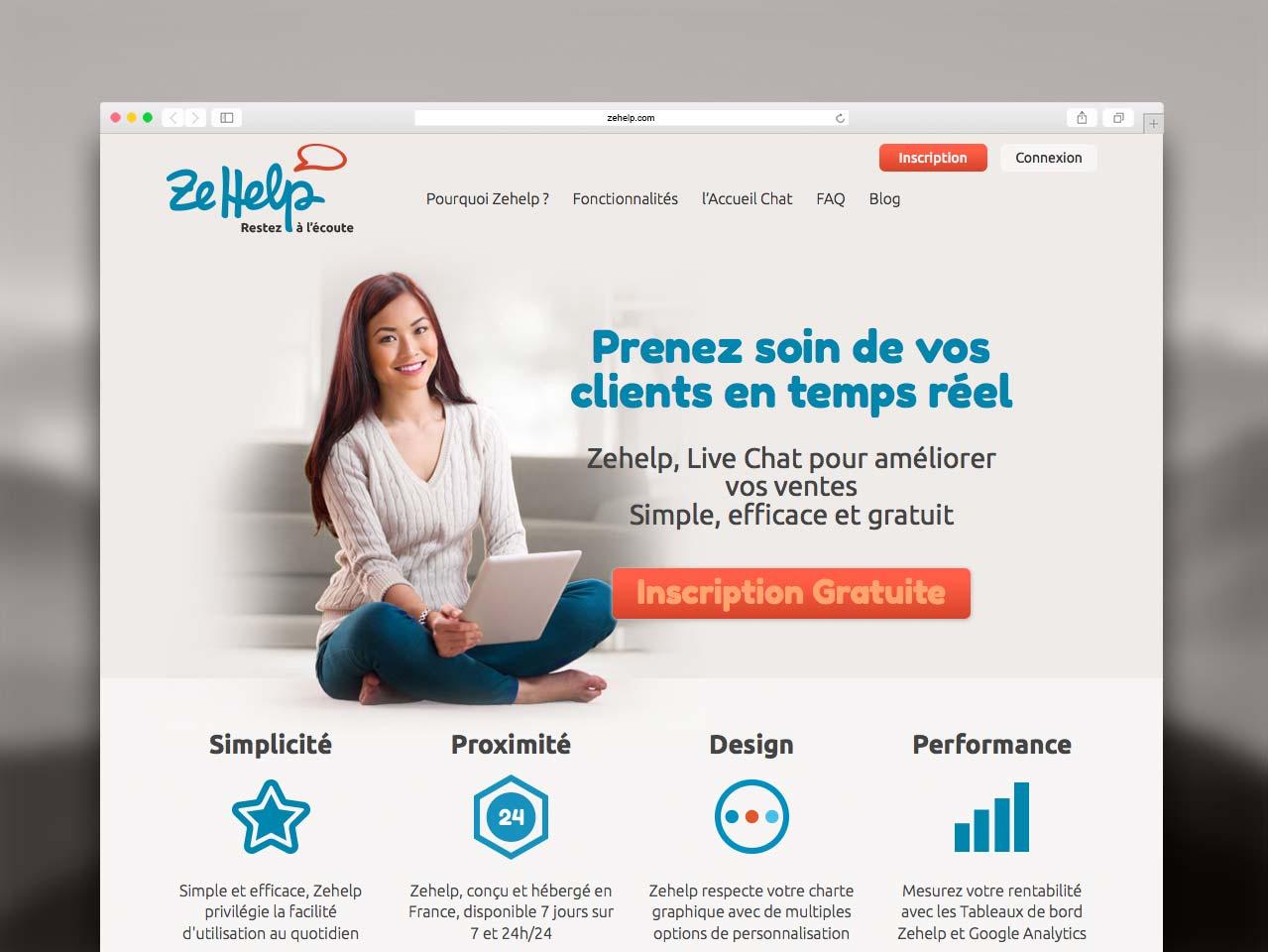 Page d'accueil Zehelp.com