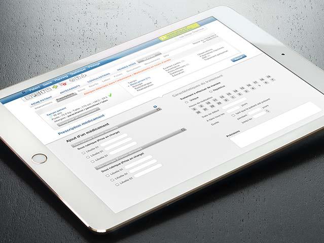 Progiciel web Expert Santé en responsive web design