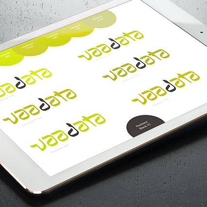 Recherches colorimetriques logo Vaadata