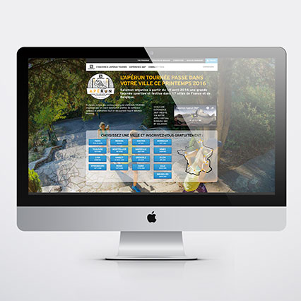 Site web Aperun Salomon 2016