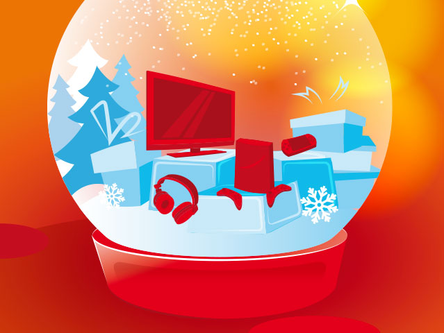Illustration vectorielle Jeu concours Noël