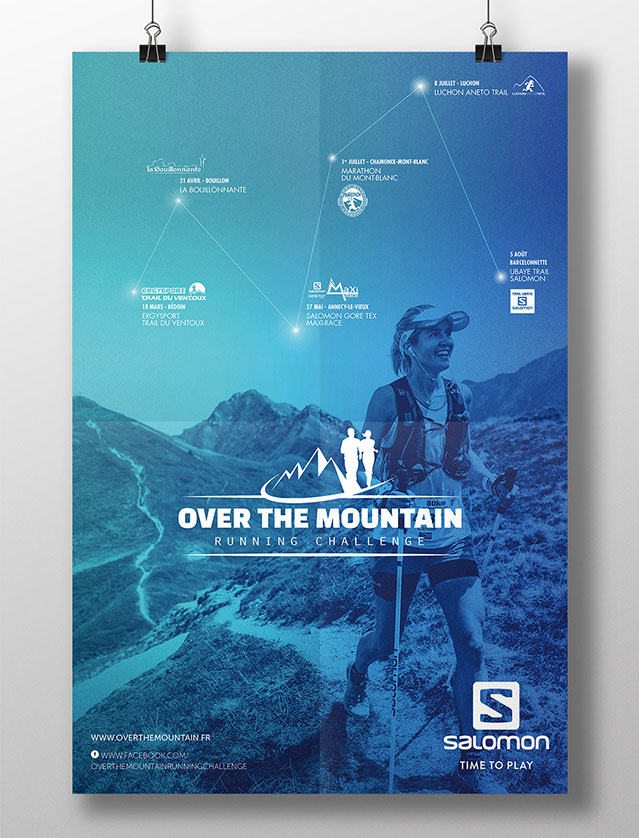 Affiche course Over The Mountain 2018