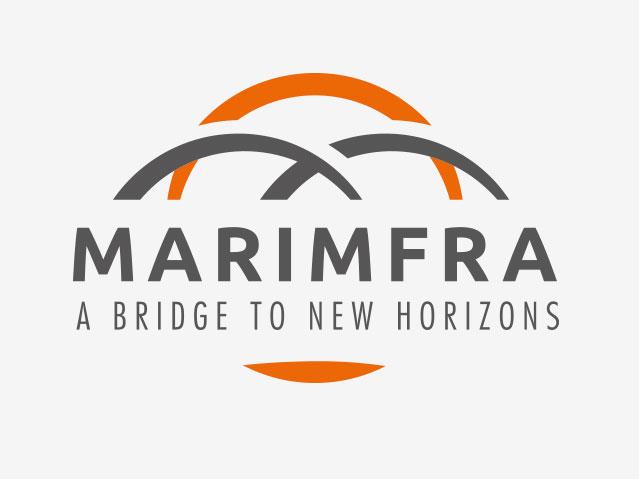Logo société Marimfra version avec Baseline