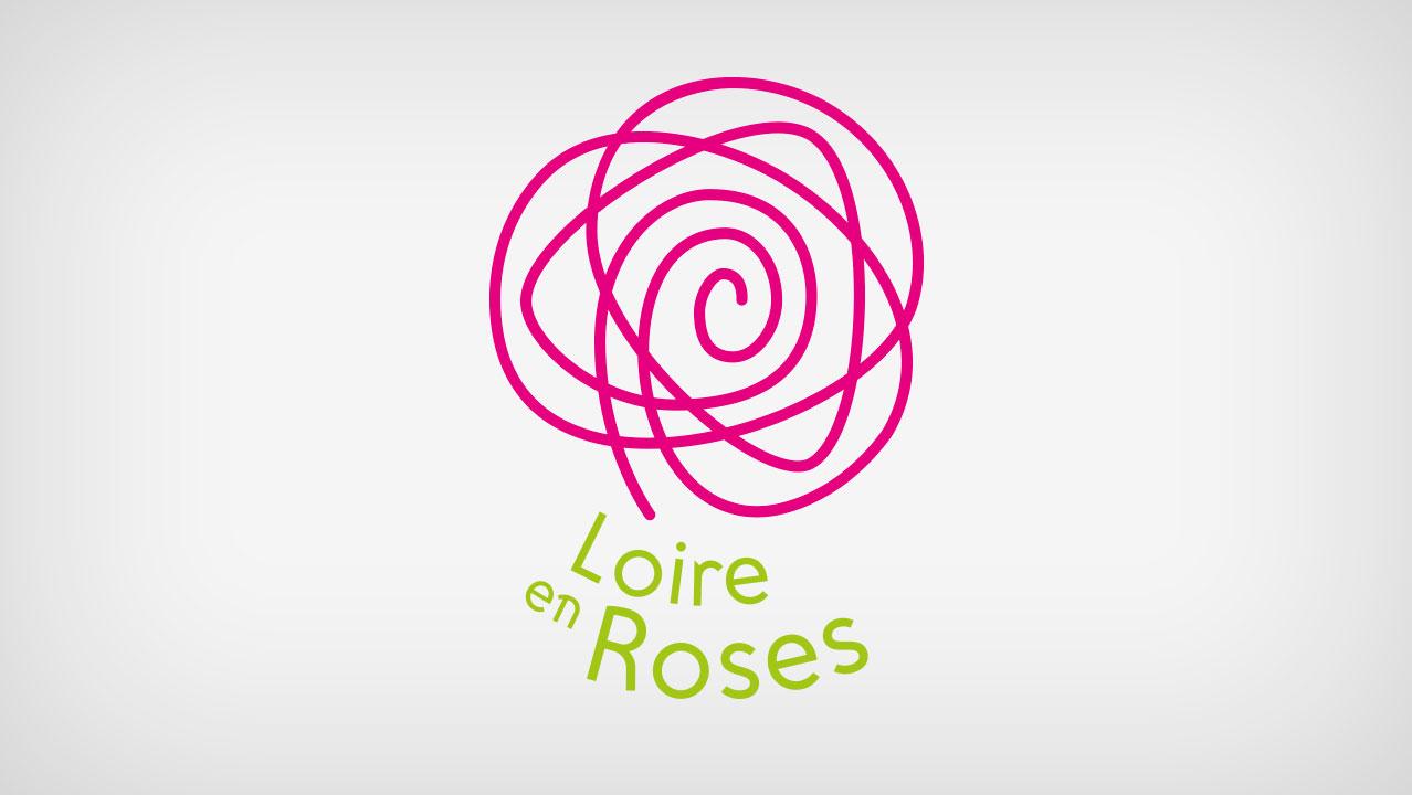 Identité visuelle Loire en Roses
