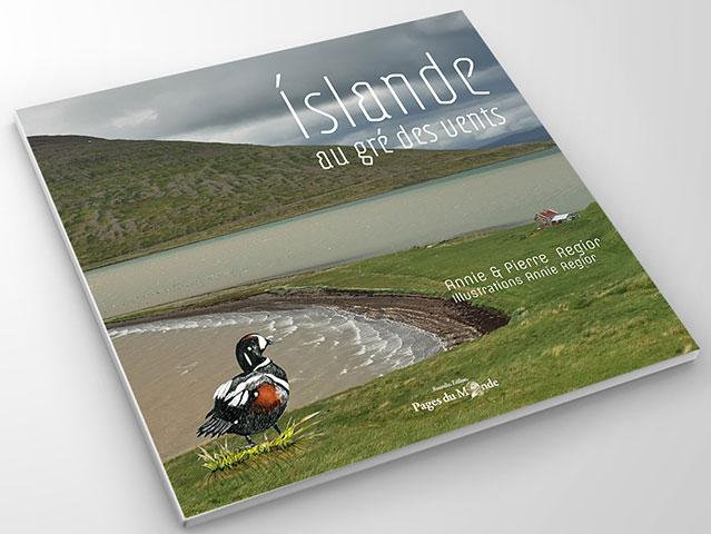 Couverture livre Islande Annie et Pierre Régior