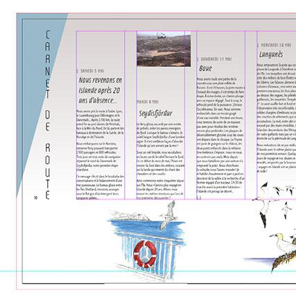 Conception graphique et direction livre photographie