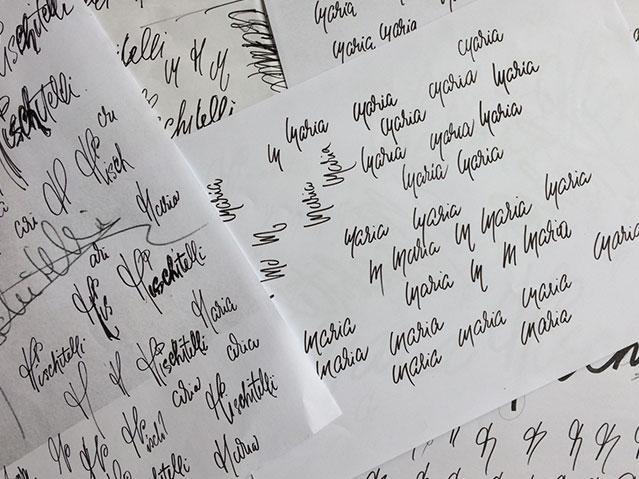 Recherche calligraphique