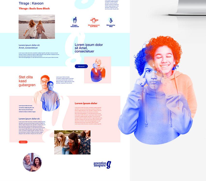 Webdesign Generation Inspire